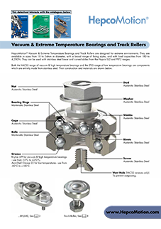 HepcoMotion - Vacuum Bearing Datasheet 02 UK