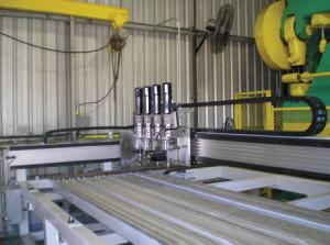 Multi head drilling application