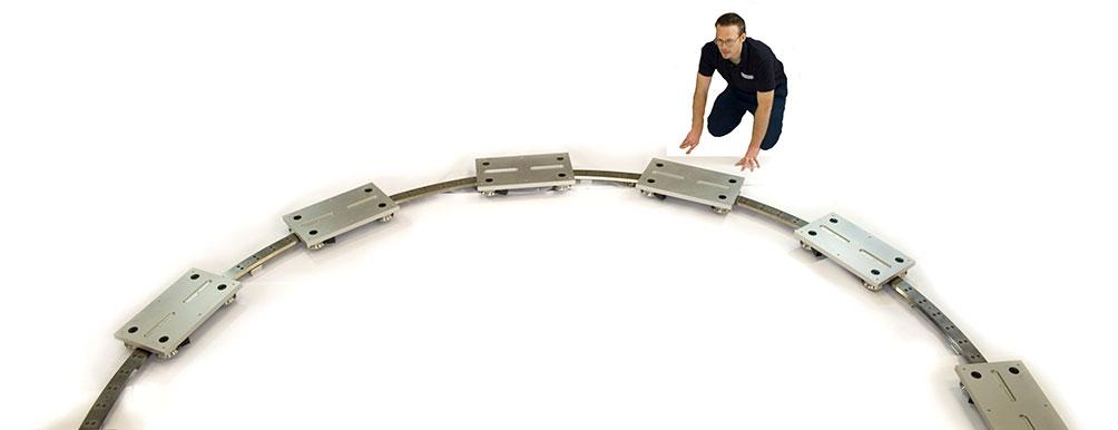 海普克(HEPCOMOTION) - Large diameter rings, segments and track systems 01