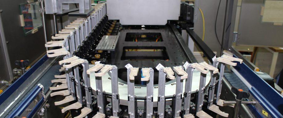 用于高性能数字印刷的PRT2环形导轨系统